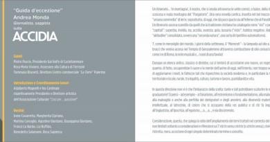 Incontro con l'Accidia a Terrasini con Andrea Monda