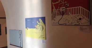 Le opere grafiche di Enrico Carimi a Monreale 1