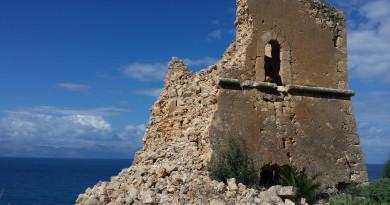 Torre Toleda crollata