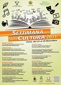 Settimana della cultura 2015