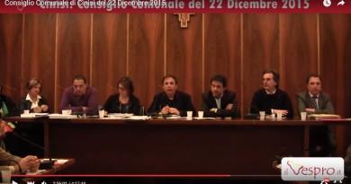 Consiglio Conisi 22 dicembre 2015