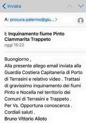 Una denuncia alla Procura sull'accaduto. Si ringrazia Bruno Vittorio Alioto