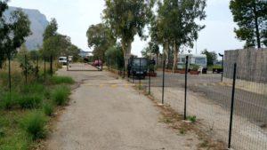 L'accesso pedonale e quello stradale