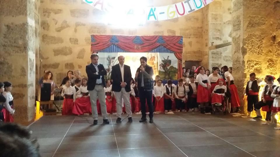 Da sinistra, Il Sindaco Giuseppe Lo Biundo con il Dirigente Scolastico Vincenzo Salvia