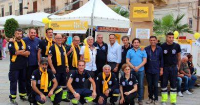 #iononrischio: i volontari della Protezione Civile di Terrasini con il Presidente Murizio Sapienza e il Sindaco Giosuè Maniaci