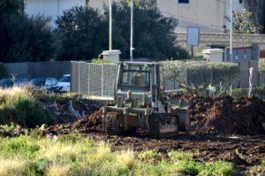 Gli scavi alla ricerca di Failla e Mazzamuto