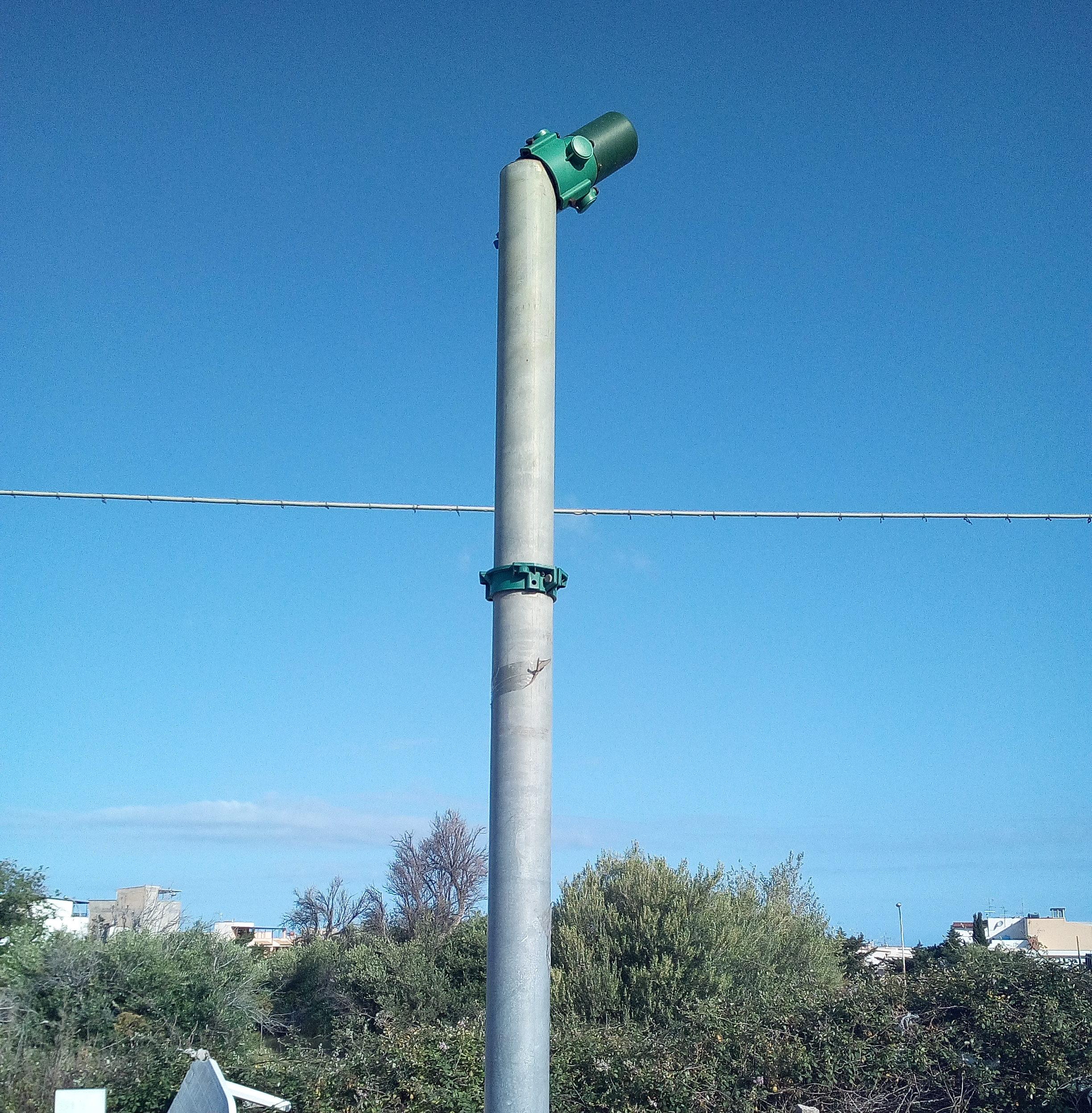 Il semaforo pedonale Via Consiglio/statale 113