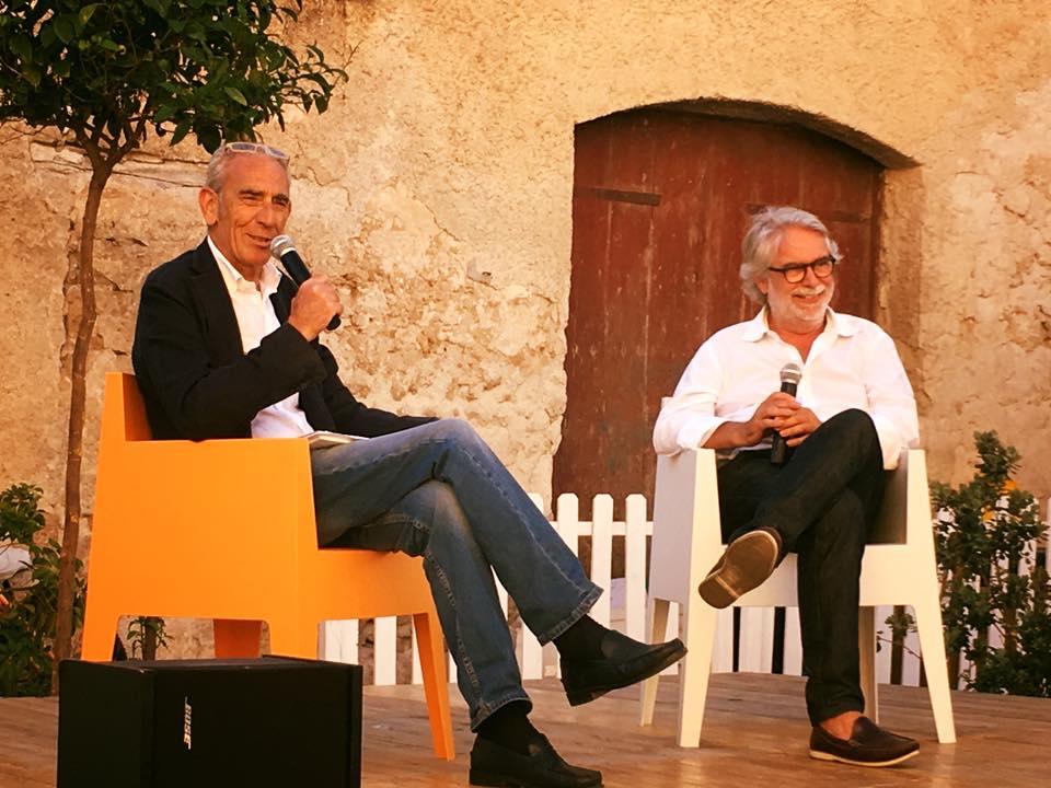 Un momento della prima giornata con Ennio Tinaglia e Giovanni Marcì