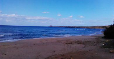 Spiaggia Magaggiari lato est