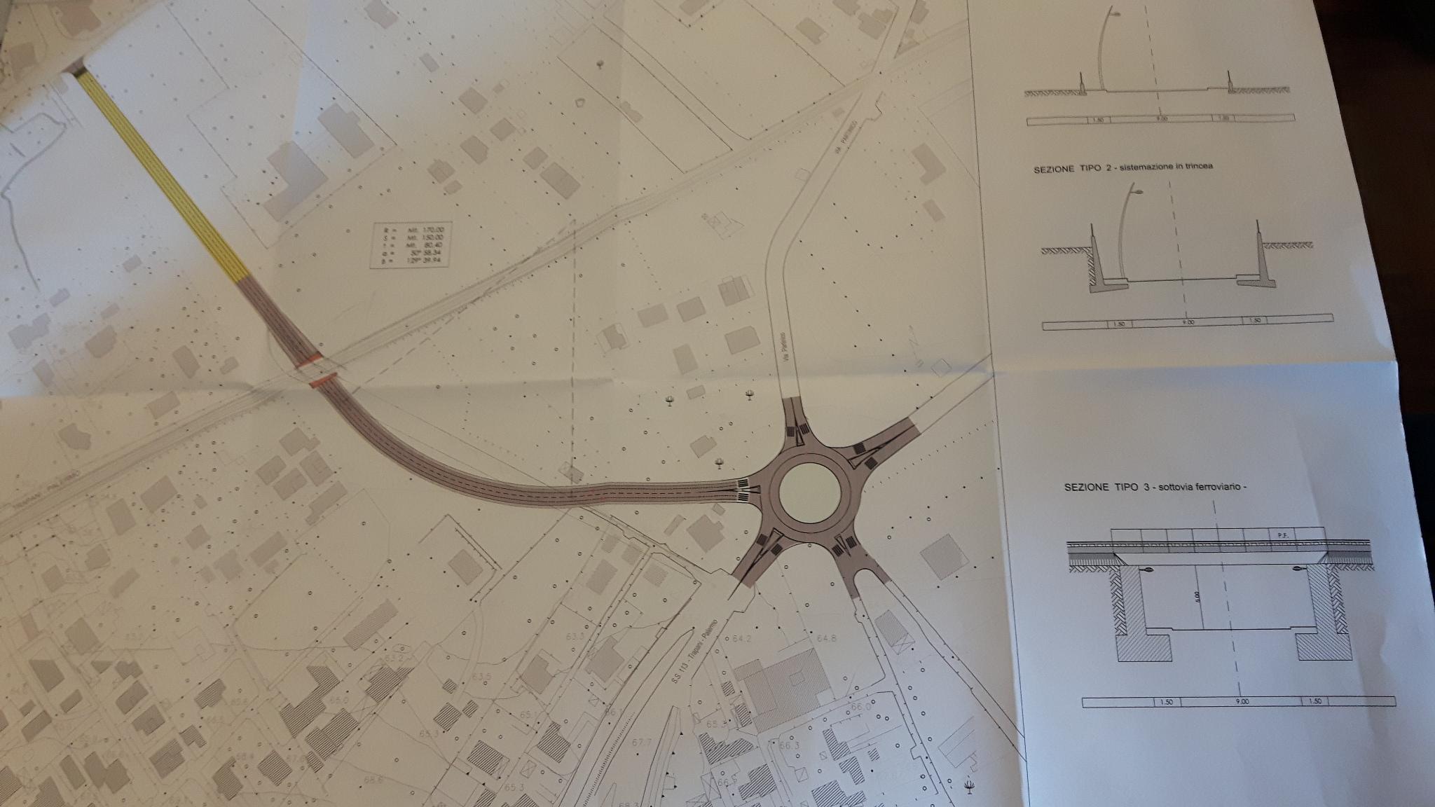 L'ipotesi progettuale del sottopasso e collegamento viario