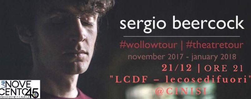 Sergio Beercock evento 21.12.2017