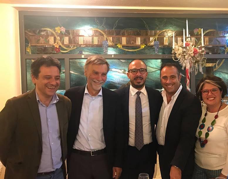Giangiacomo Palazzolo, Graziano Del Rio, Davide Faraone, Giosuè Maniaci e Maria Rita Crisci