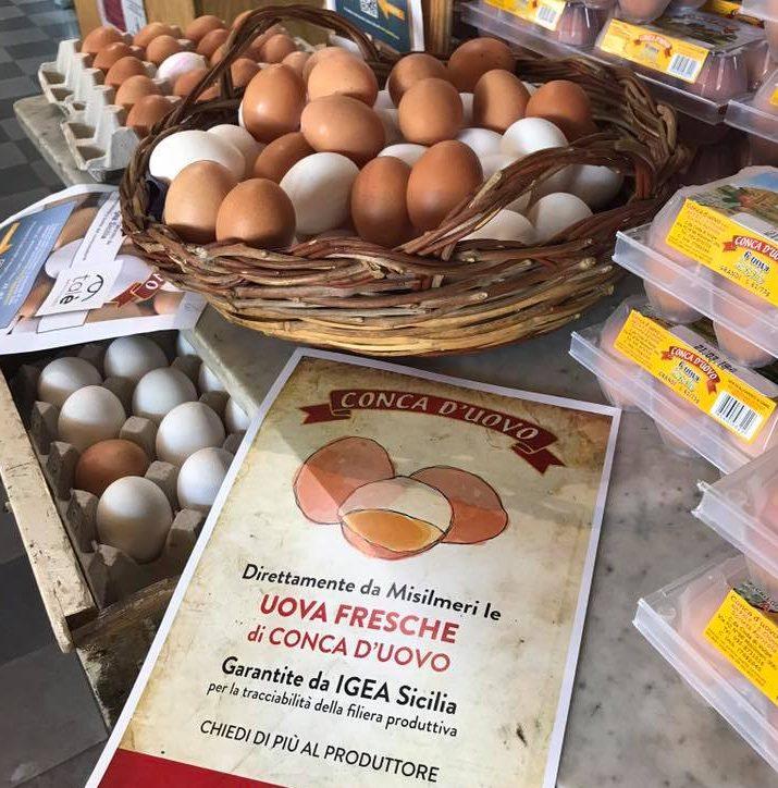 Tracciabilità delle uova in un evento di Igea Sicilia