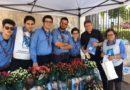 """Cinisi:  vendita azalee dell'A.I.R.C. da parte del Gruppo Scout """"Cinisi 1"""""""