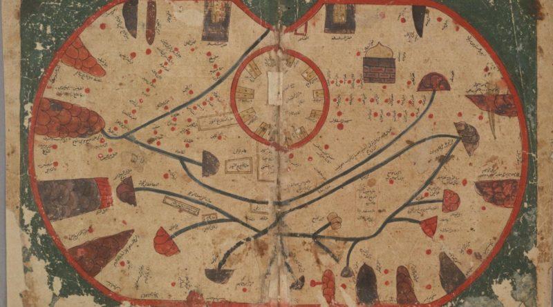 La mappa della Sicilia. Università di Oxford. Riproduzione Vietata