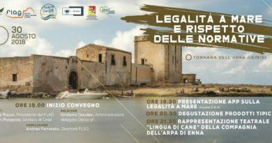 """Cinisi: convegno """"Legalità a mare"""""""