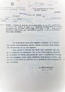All 1 - 1967 Soprintendenza - parere contrario a piscina