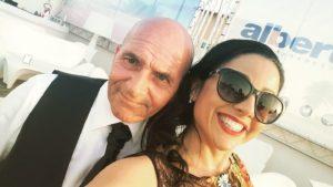 Giovanni Sampino e la figlia Rosy